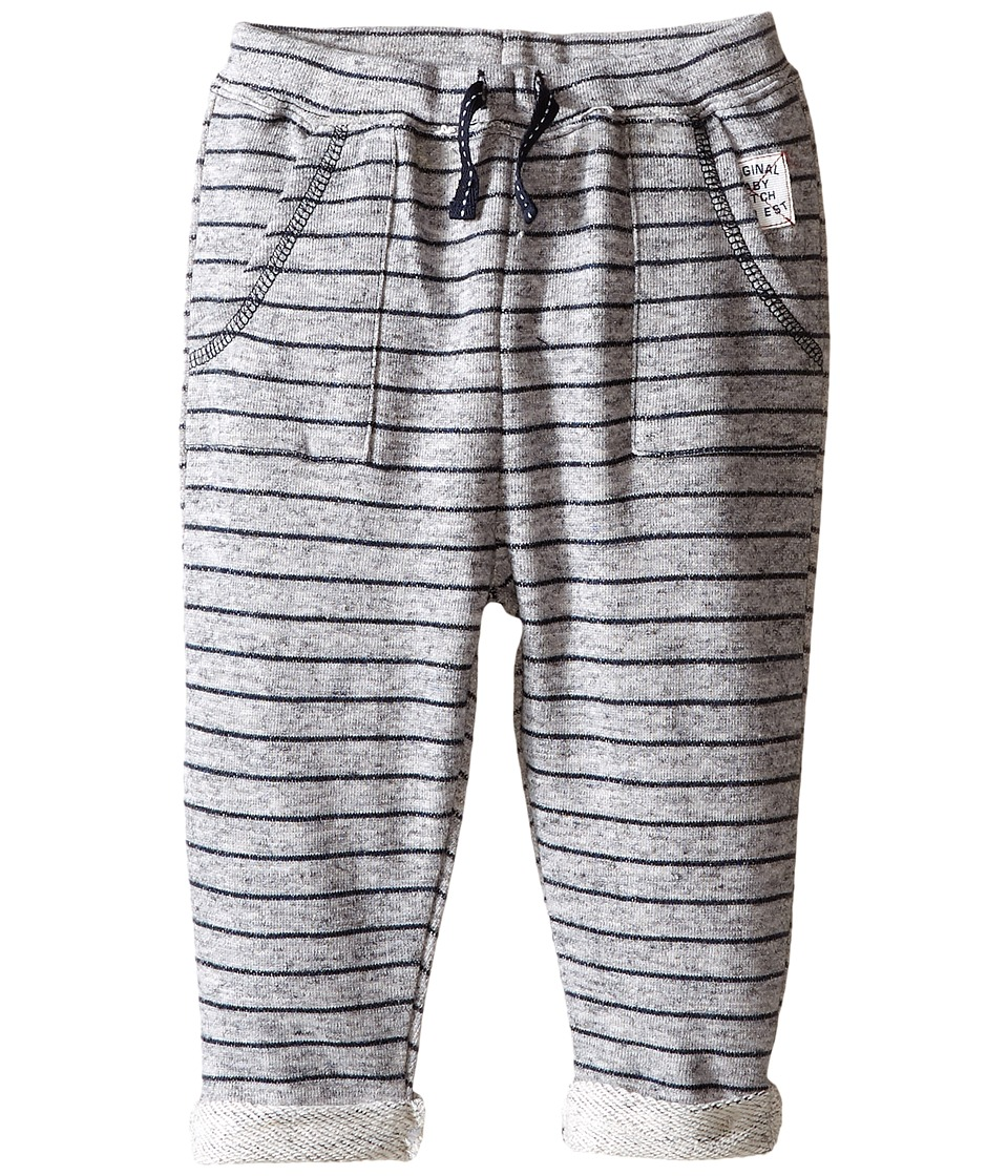 Pumpkin Patch Kids - Striped Jogger (Infant) (Athletic Marle) Boy's Casual Pants