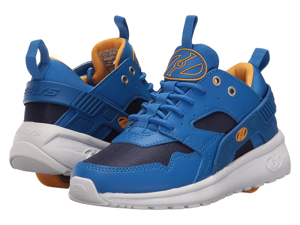Heelys - Force (Little Kid/Big Kid/Adult) (Royal/Navy/Saffron) Boys Shoes