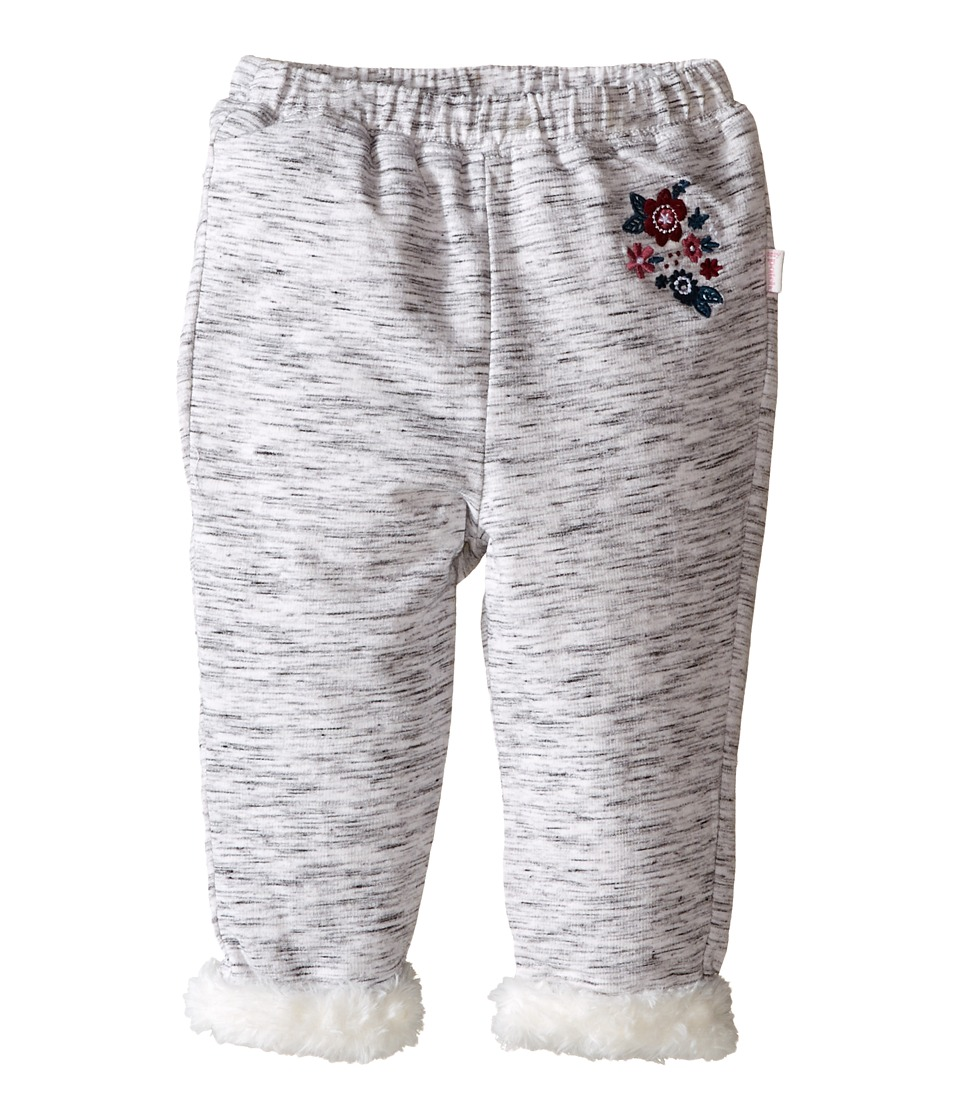 Pumpkin Patch Kids - Fluffy Lined Pants (Infant) (Grey Marle) Girl's Casual Pants