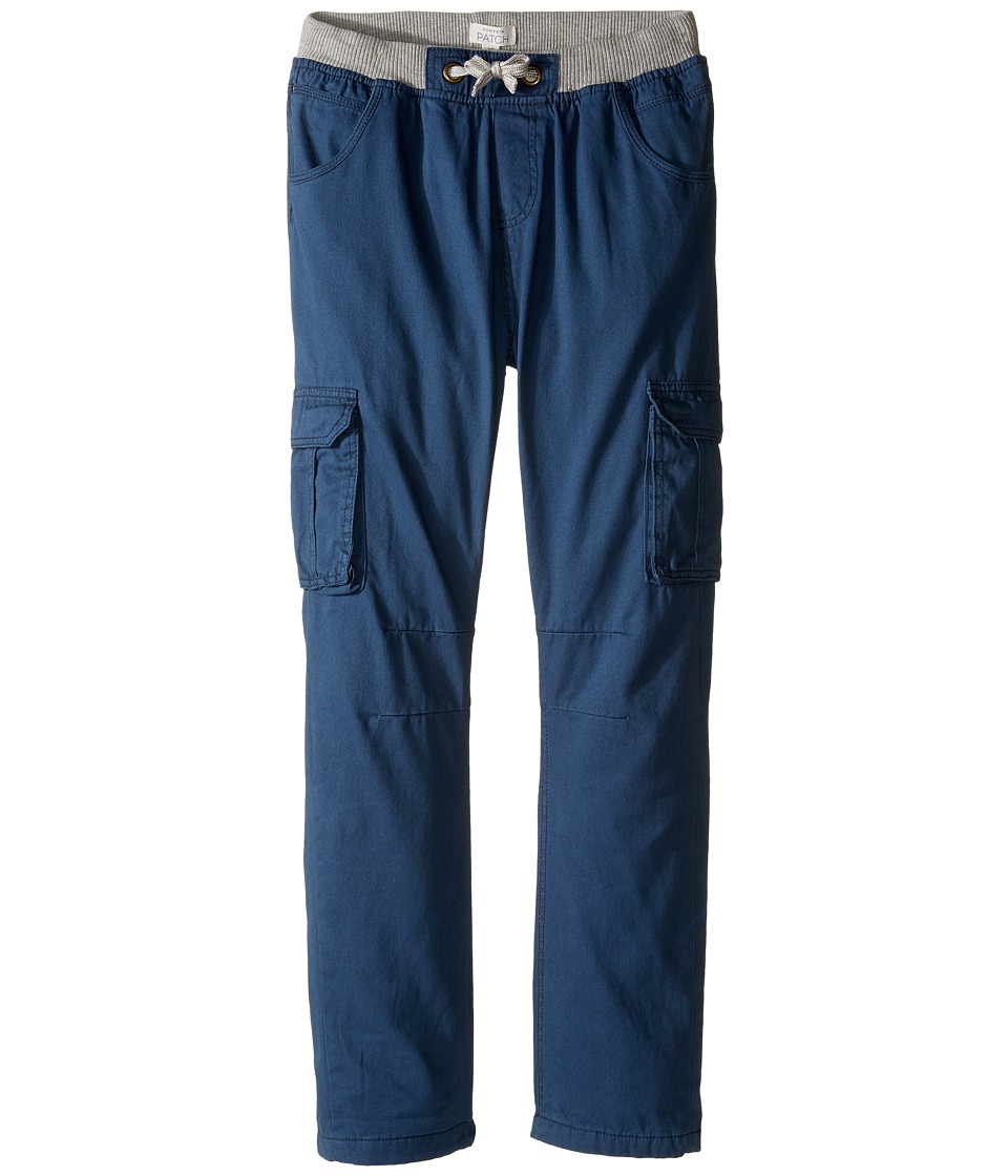 Pumpkin Patch Kids - Lined Cargo Pants (Big Kids) (Blue Wing) Boy's Casual Pants
