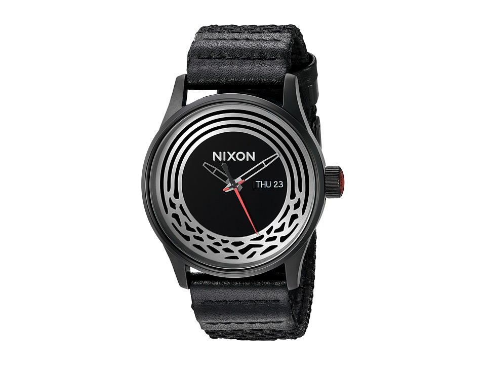 Nixon - Sentry Woven - Star Wars Collection (Kylo Black) Watches