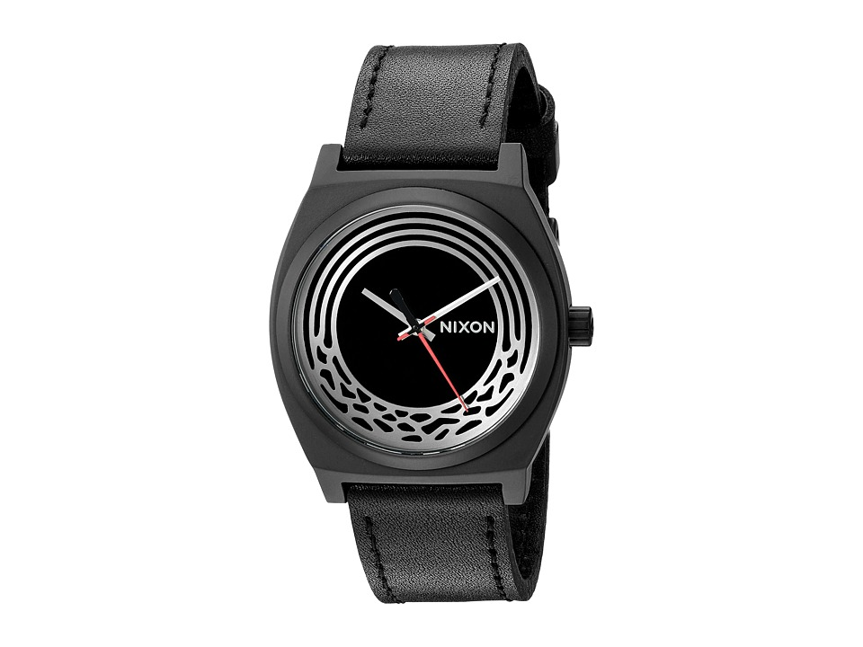 Nixon - Time Teller Leather - Star Wars Collection (Kylo Black) Watches