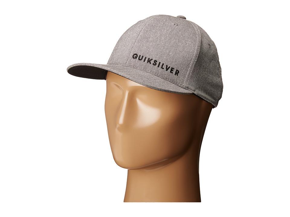 Quiksilver - Sideliner Hat (Tarmac) Caps