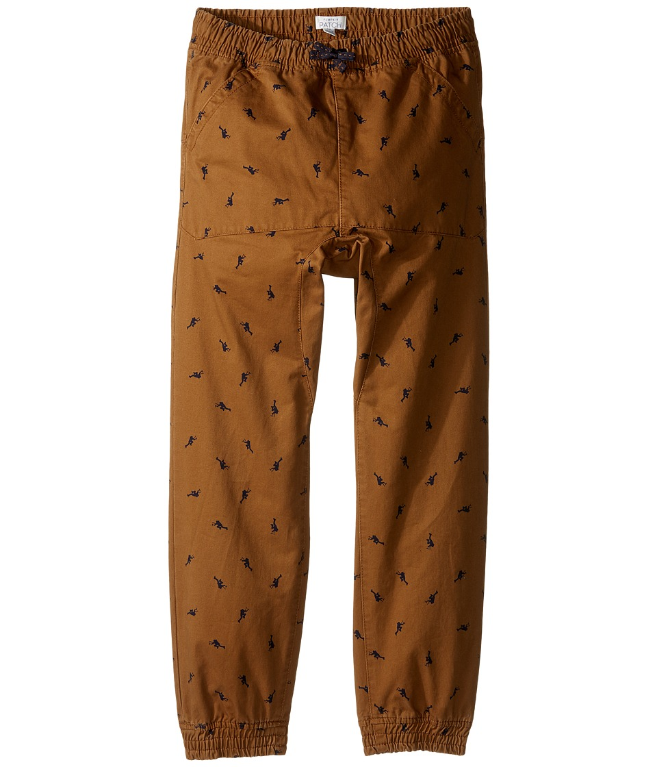 Pumpkin Patch Kids - Drop Crotch Climbing Pants (Big Kids) (Toasted Coconut) Boy's Casual Pants