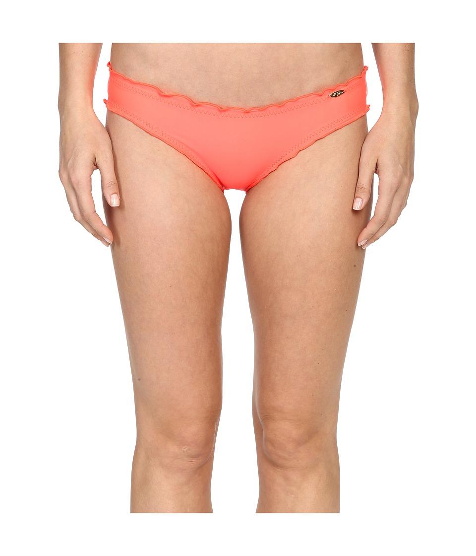 Luli Fama - Cosita Buena Full Ruched Back Bikini Bottom (Hot Mess) Women's Swimwear