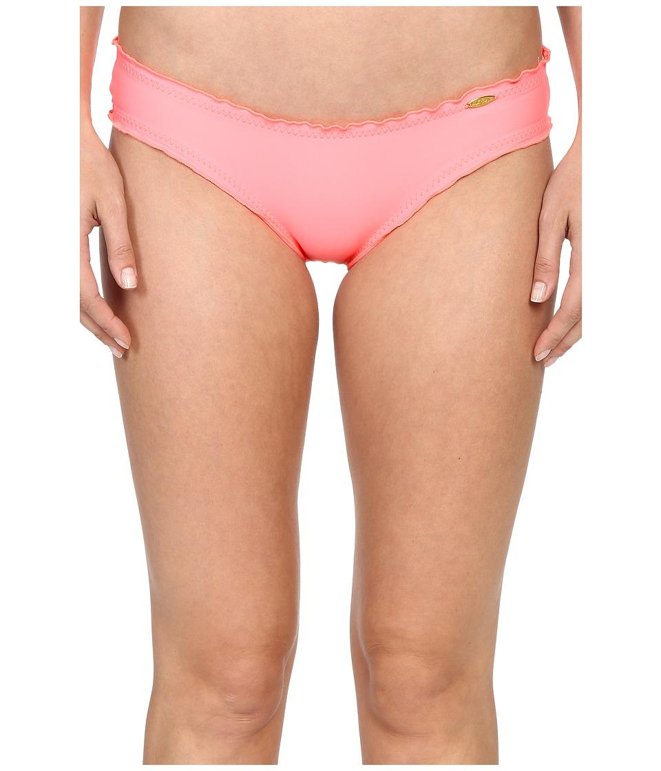 Luli Fama - Cosita Buena Full Ruched Back Bikini Bottom (Pink Sunsets) Women's Swimwear