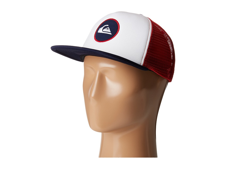 Quiksilver - Snapstearn Trucker Hat (True Red) Caps