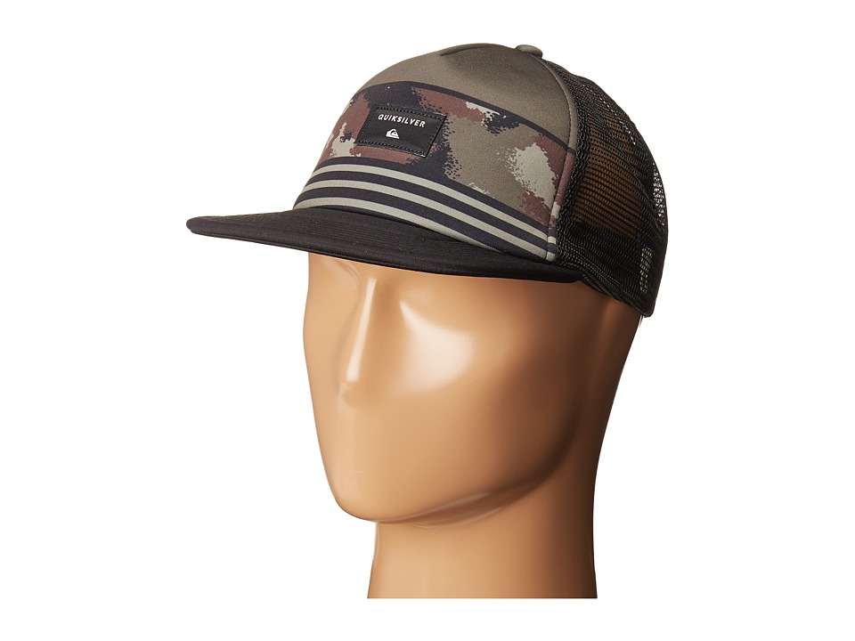 Quiksilver - Quad Block Hat (Camo) Caps