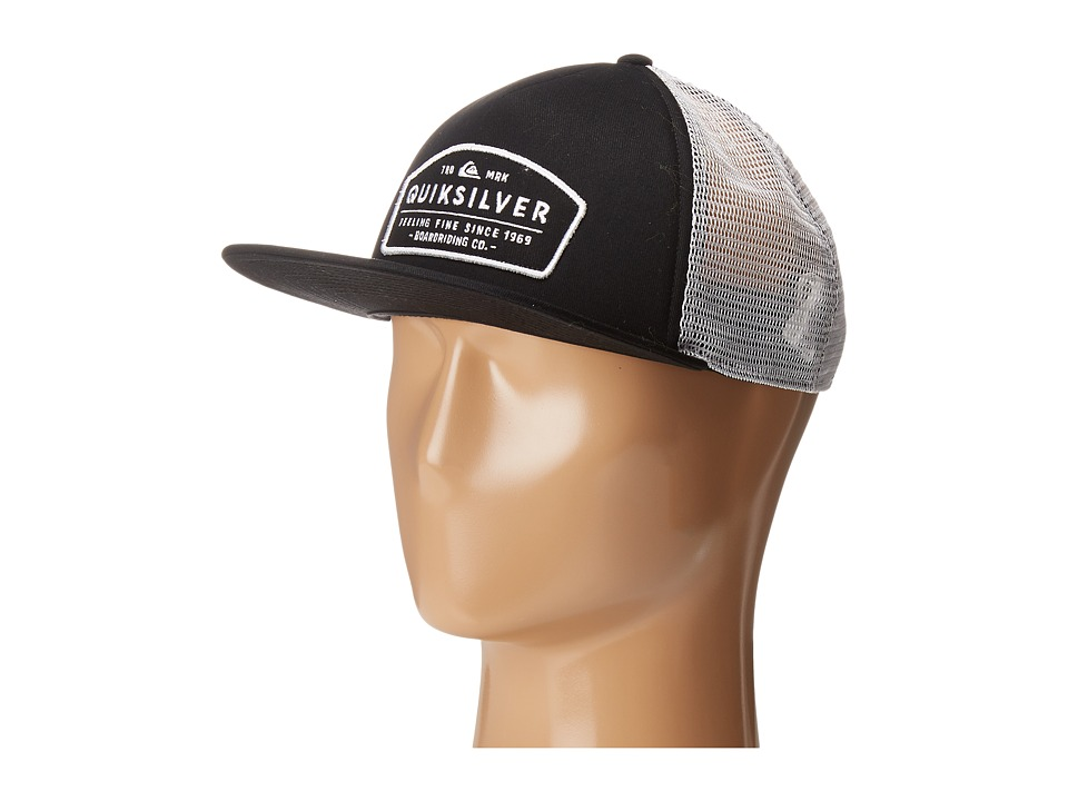 Quiksilver - Reeder Trucker Hat (Black) Caps