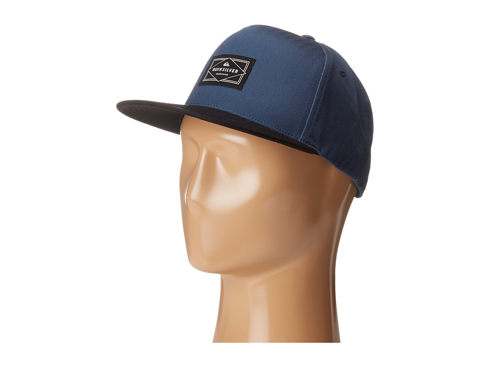 Quiksilver - Chandler Snapback (Dark Denim) Caps