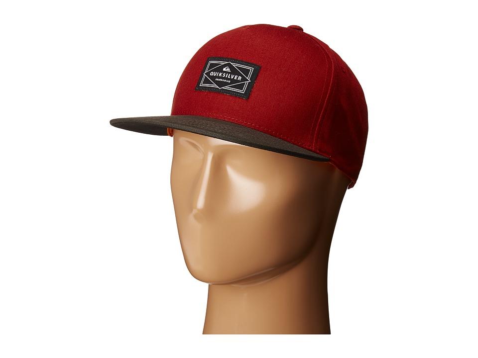 Quiksilver - Chandler Snapback (Quik Red) Caps