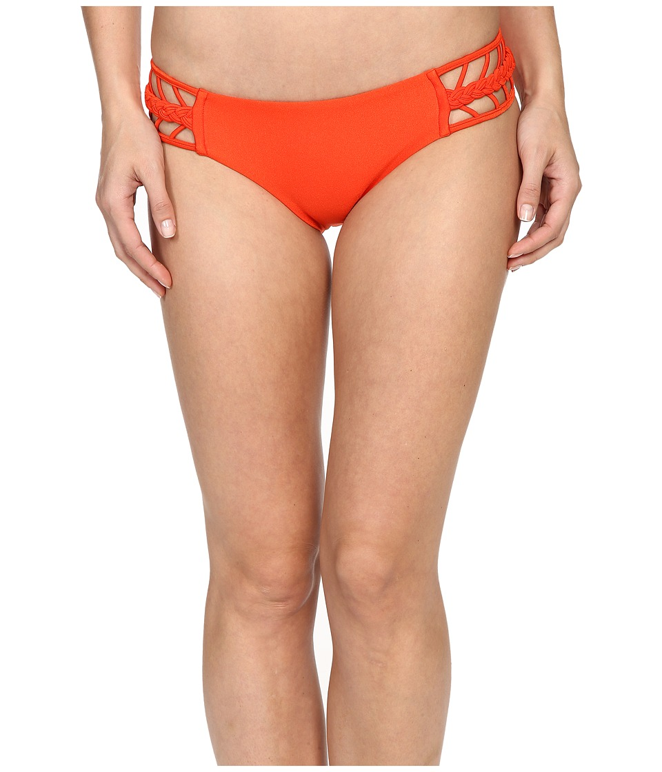 Luli Fama - Kiss The Wave Strings To Braid Side Full Bottom (Caliente) Women's Swimwear