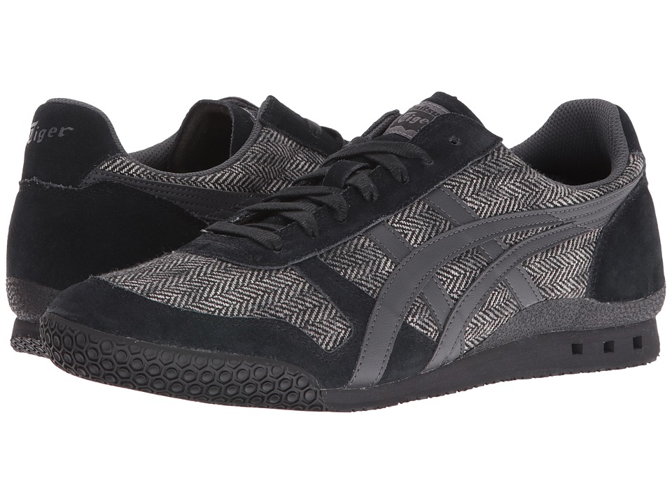 Onitsuka Tiger by Asics - Ultimate 81 (Black/Dark Grey) Athletic Shoes