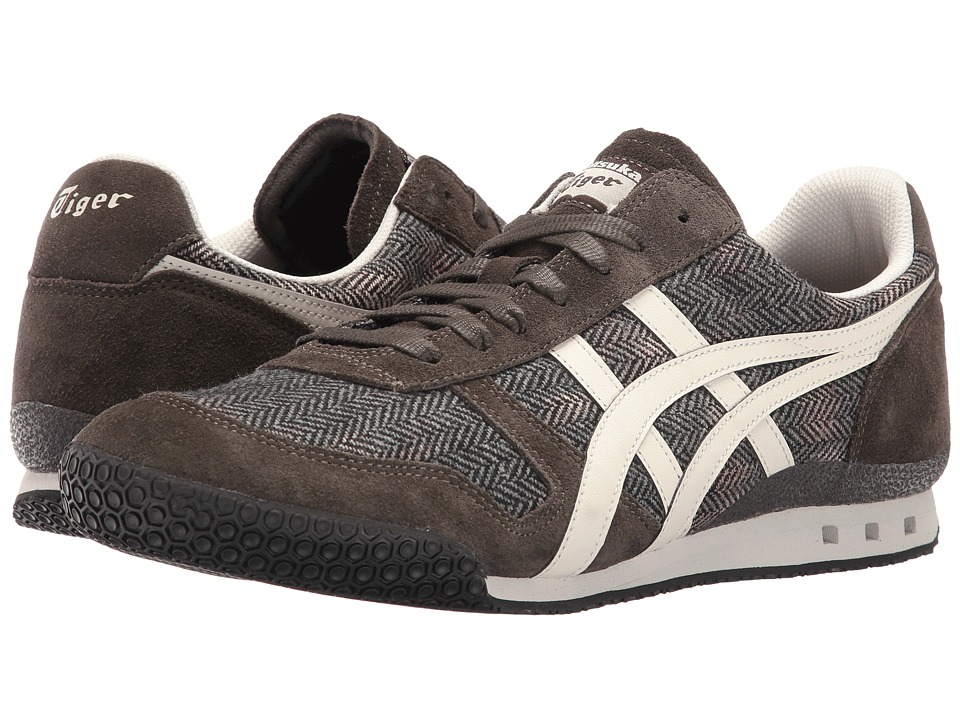 Onitsuka Tiger by Asics Ultimate 81(r) (Black Olive/Off-White) Athletic Shoes