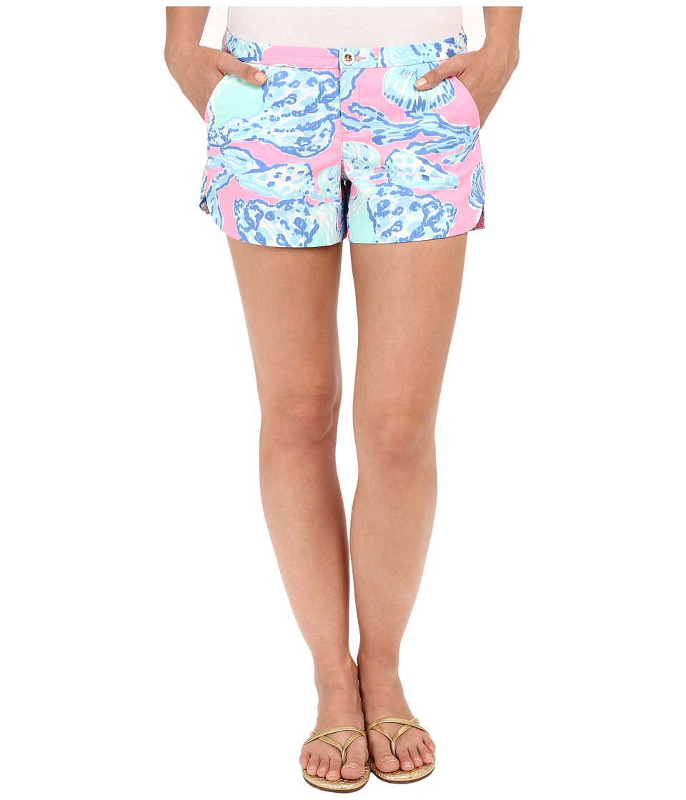 Lilly Pulitzer - Adie Shorts (Pink Pout Barefoot Princess) Women's Shorts