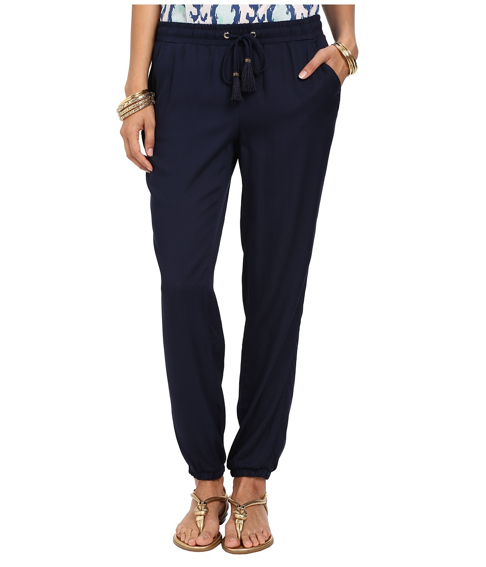 Lilly Pulitzer - Piper Pants (True Navy) Women's Casual Pants