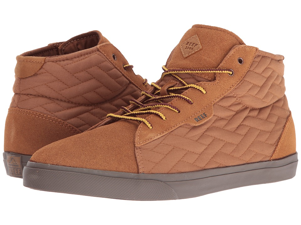 Reef  REEF - RIDGE MID TX (TAN) MEN'S LACE UP CASUAL SHOES