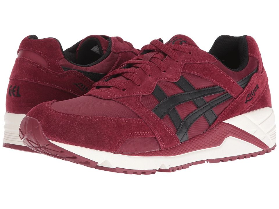 Onitsuka Tiger by Asics - Gel-Lique (Pomegranate/Black) Athletic Shoes