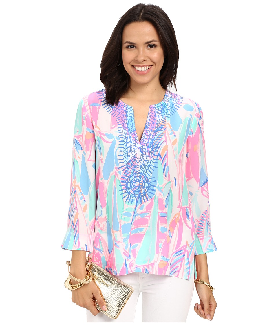 Lilly Pulitzer - Amelia Island Tunic (Multi Out To Sea) Women's Blouse