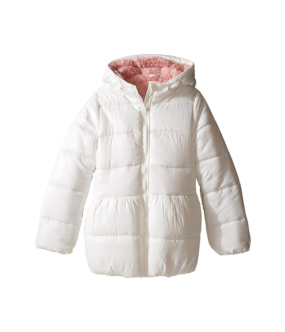 Pumpkin Patch Kids - Puffer Jacket (Infant/Toddler/Little Kids/Big Kids) (French Vanilla) Girl's Coat