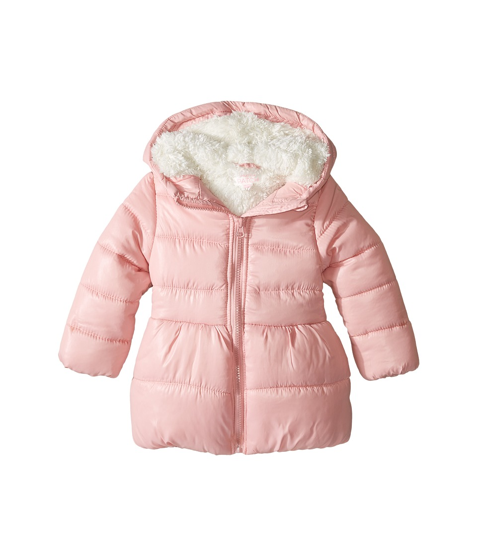Pumpkin Patch Kids - Puffer Jacket (Infant/Toddler/Little Kids/Big Kids) (Bridal Rose) Girl's Coat