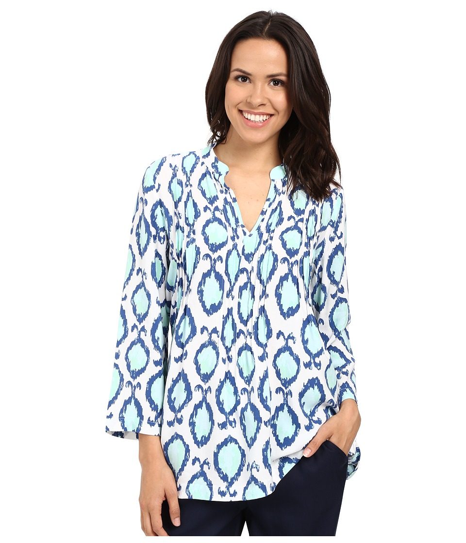 Lilly Pulitzer - Sarasota Tunic (Resort White Hook You In) Women's Blouse