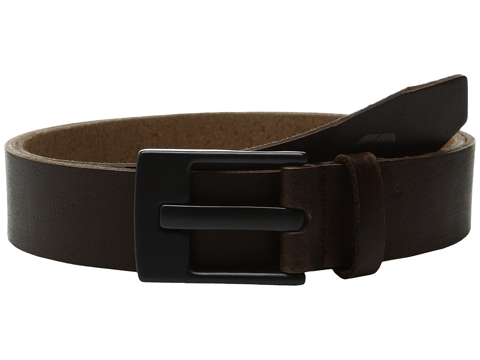 Quiksilver - Revival II Belt (Dark Brown) Men's Belts