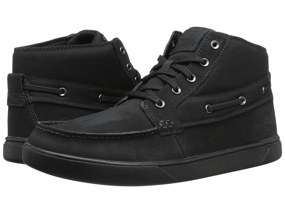 Timberland - Groveton Boat Chukka (Black) Men's Boots