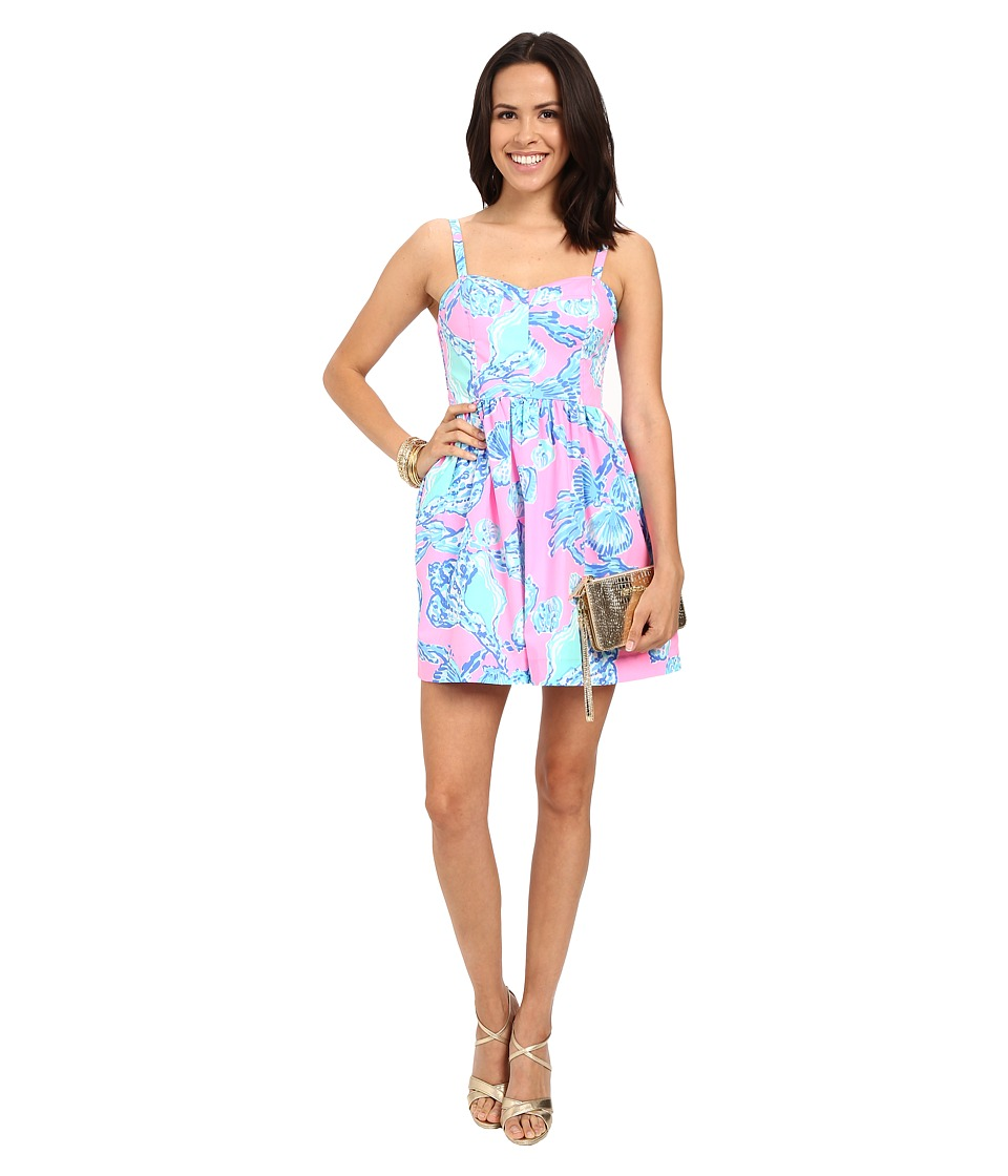 Lilly Pulitzer - Ardleigh Dress (Pink Pout Barefoot Princess) Women's Dress