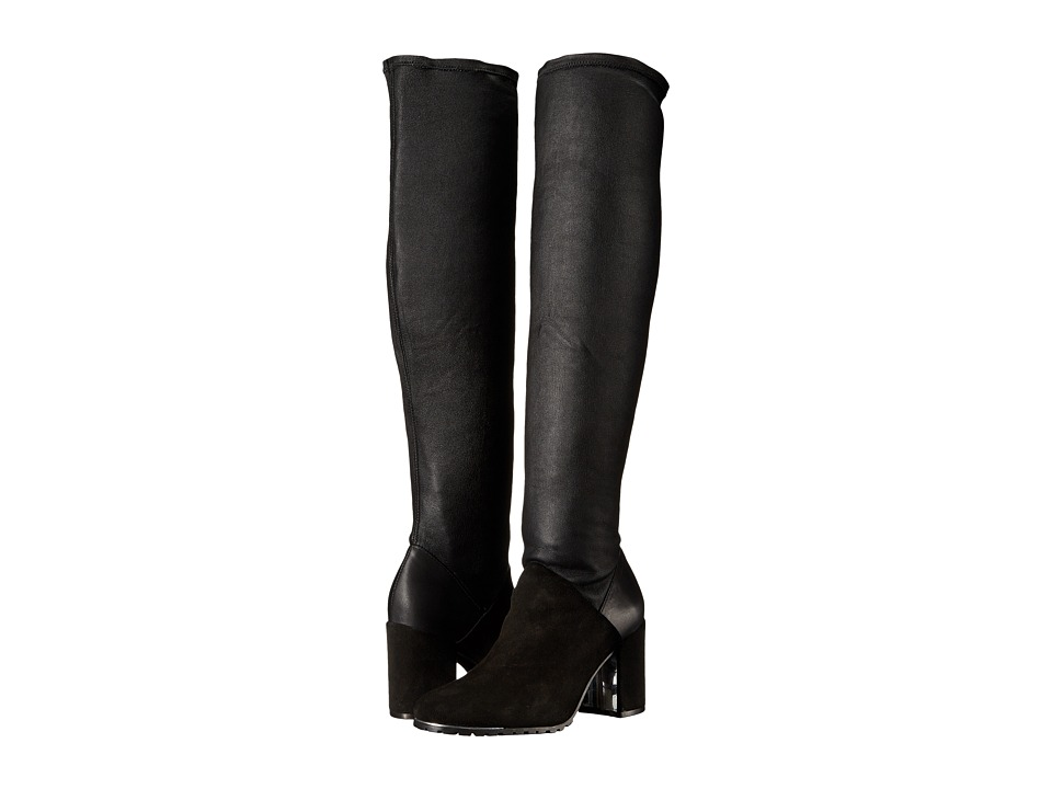 Rachel Zoe - Taz (Black Stretch Suede/Stretch Nappa) Women's Boots
