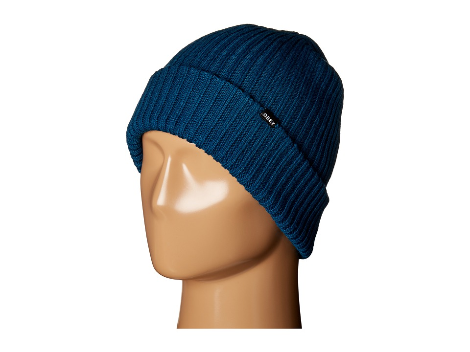 Obey - Linden Beanie (Moroccan Blue) Beanies