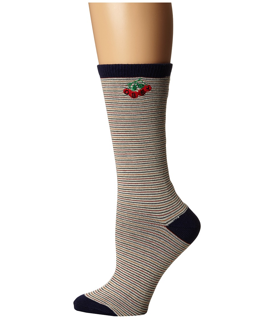 Obey - Clementine Sock (Gardenia Multi) Women's Crew Cut Socks Shoes