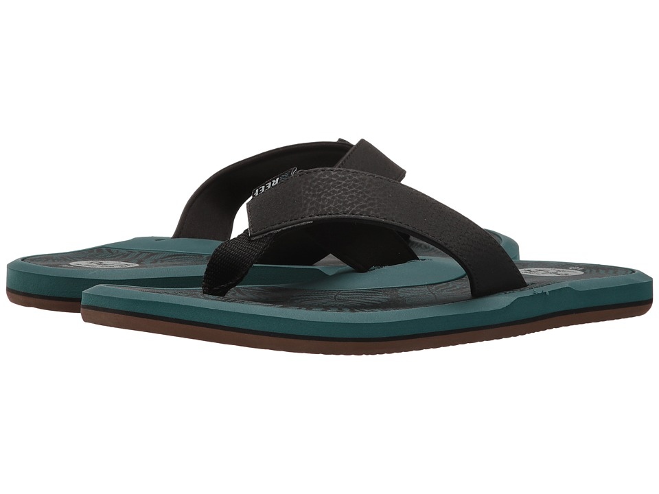 Reef - Machado Day Prints (Palm Teal) Men's Sandals