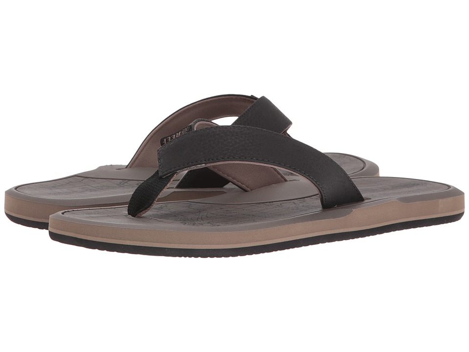 Reef - Machado Day Prints (Tan Map) Men's Sandals