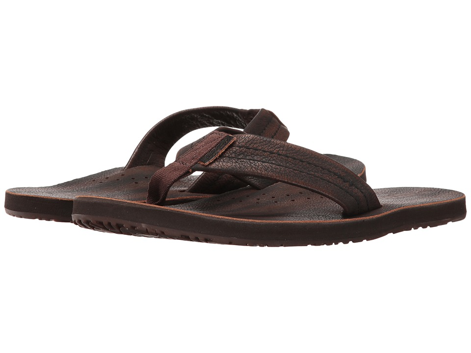 Reef - Draftsmen Lux (Vintage Brown) Men's Sandals