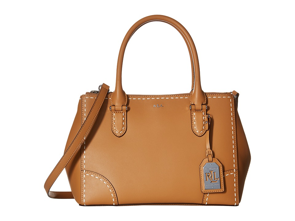 LAUREN Ralph Lauren - Rothwell Shopper (Light Cuoio) Handbags