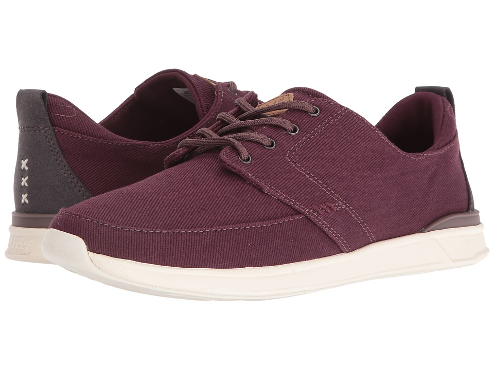 Reef - Rover Low (Burgundy) Women's Lace up casual Shoes