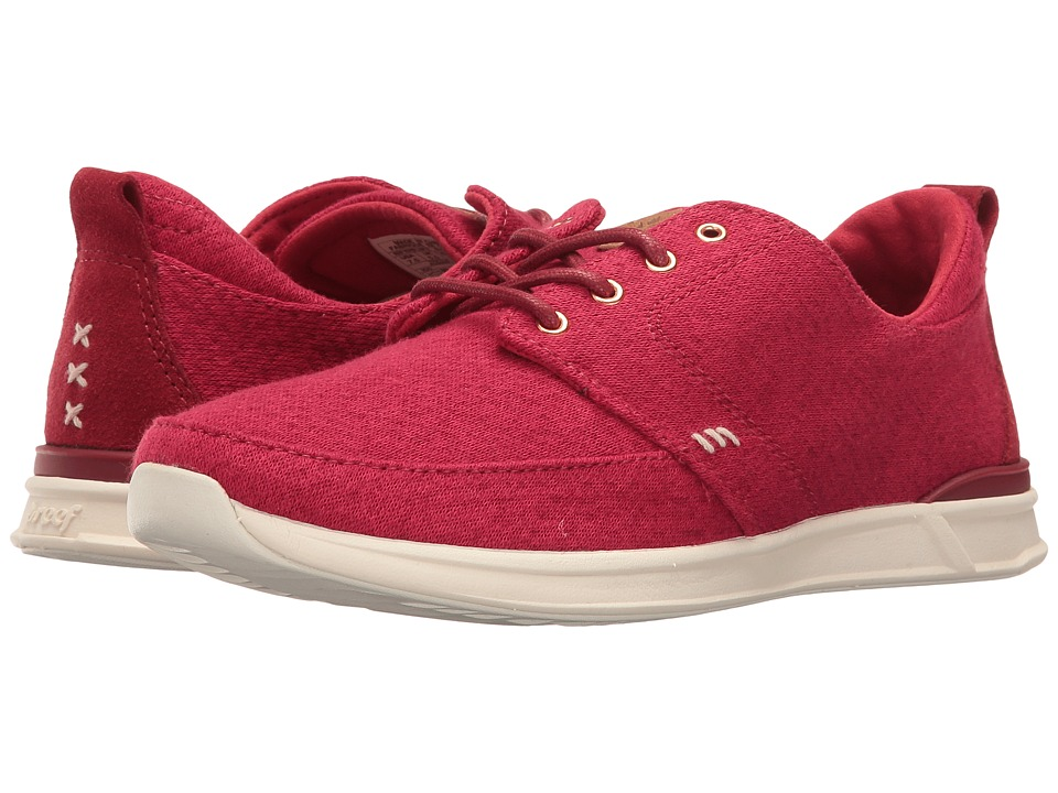 Reef - Rover Low TX (Red) Women's Lace up casual Shoes