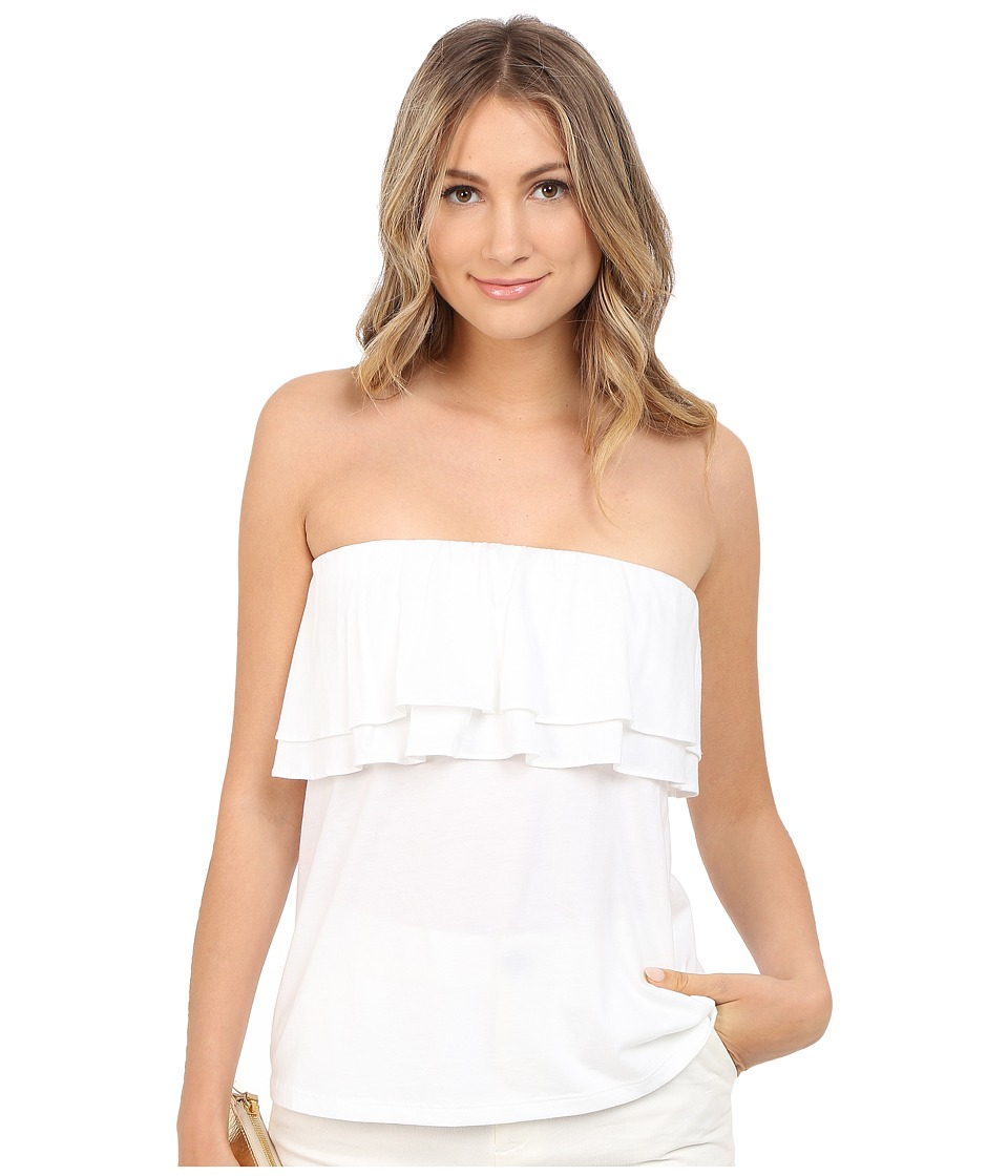 Lilly Pulitzer - Rilo Tube Top (Resort White) Women's Sleeveless