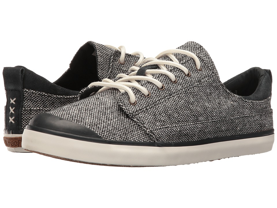 Reef - Walled Low TX (Black Tweed) Women's Lace up casual Shoes