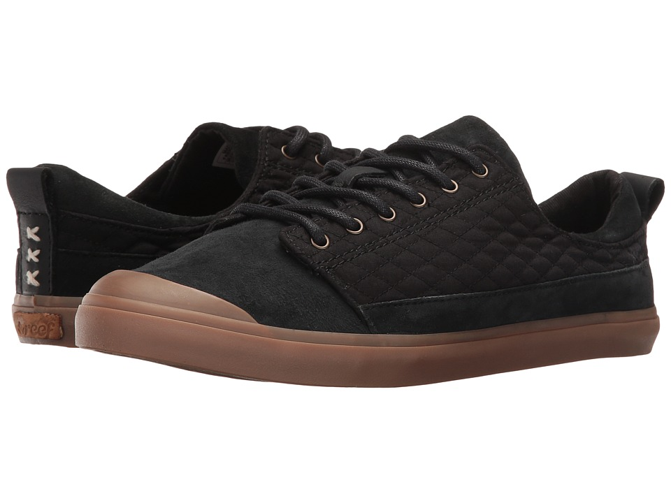 Reef Walled Low QT (Black) Women