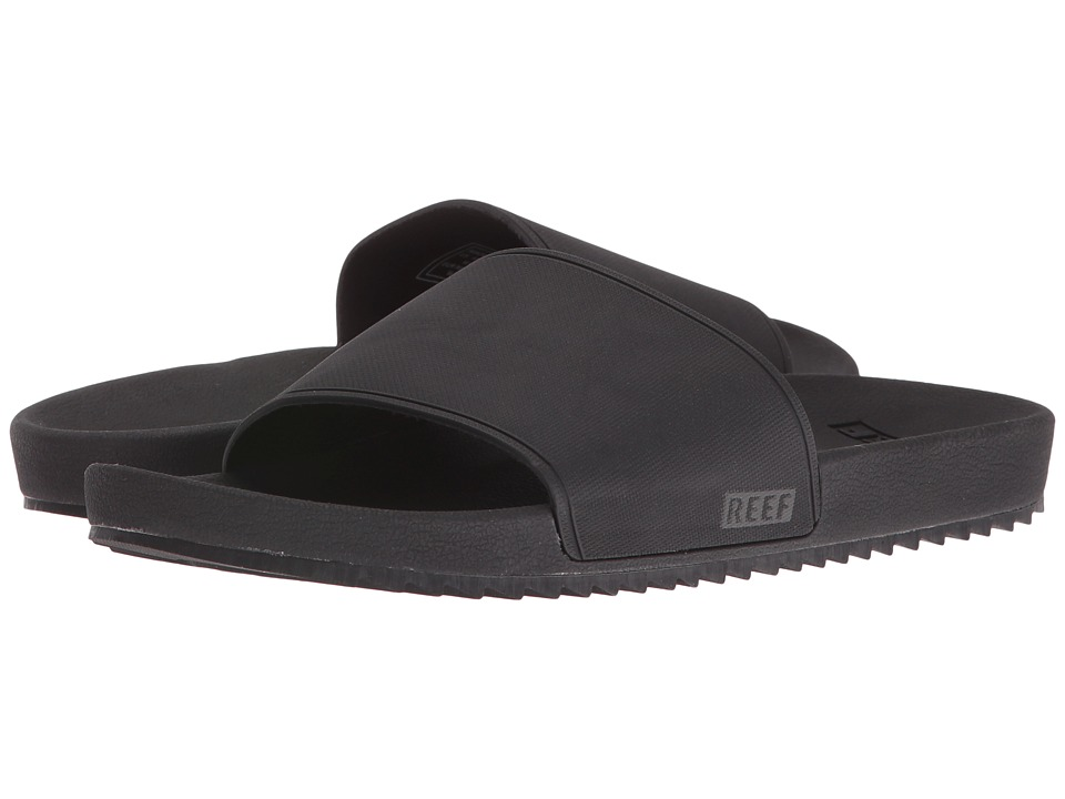 Reef - Slidely (Black/Black) Women's Sandals