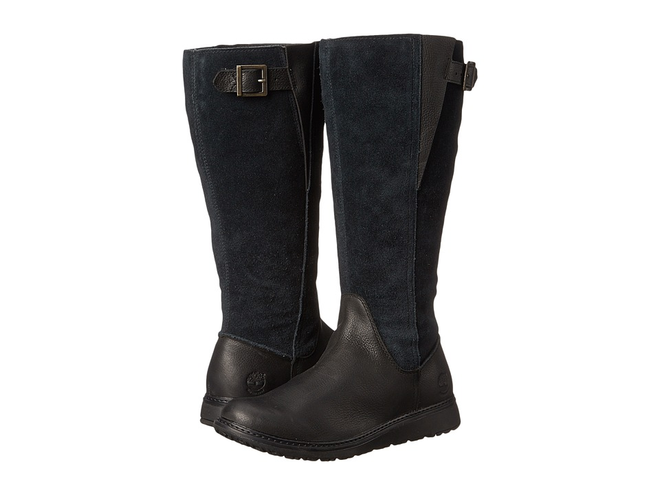 Timberland - Ashdale All Fit Tall (Black) Women's Pull-on Boots
