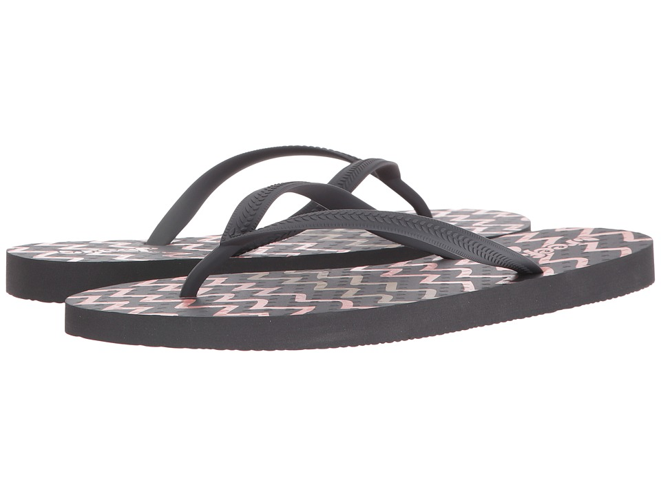 Reef - Chakras Prints (Charcoal/Zigzag) Women's Sandals