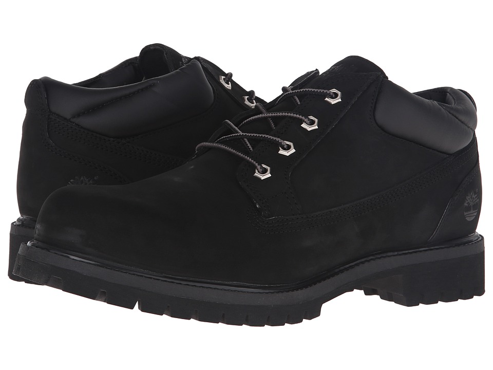 Timberland Premium Plain Toe Oxford (Black) Men