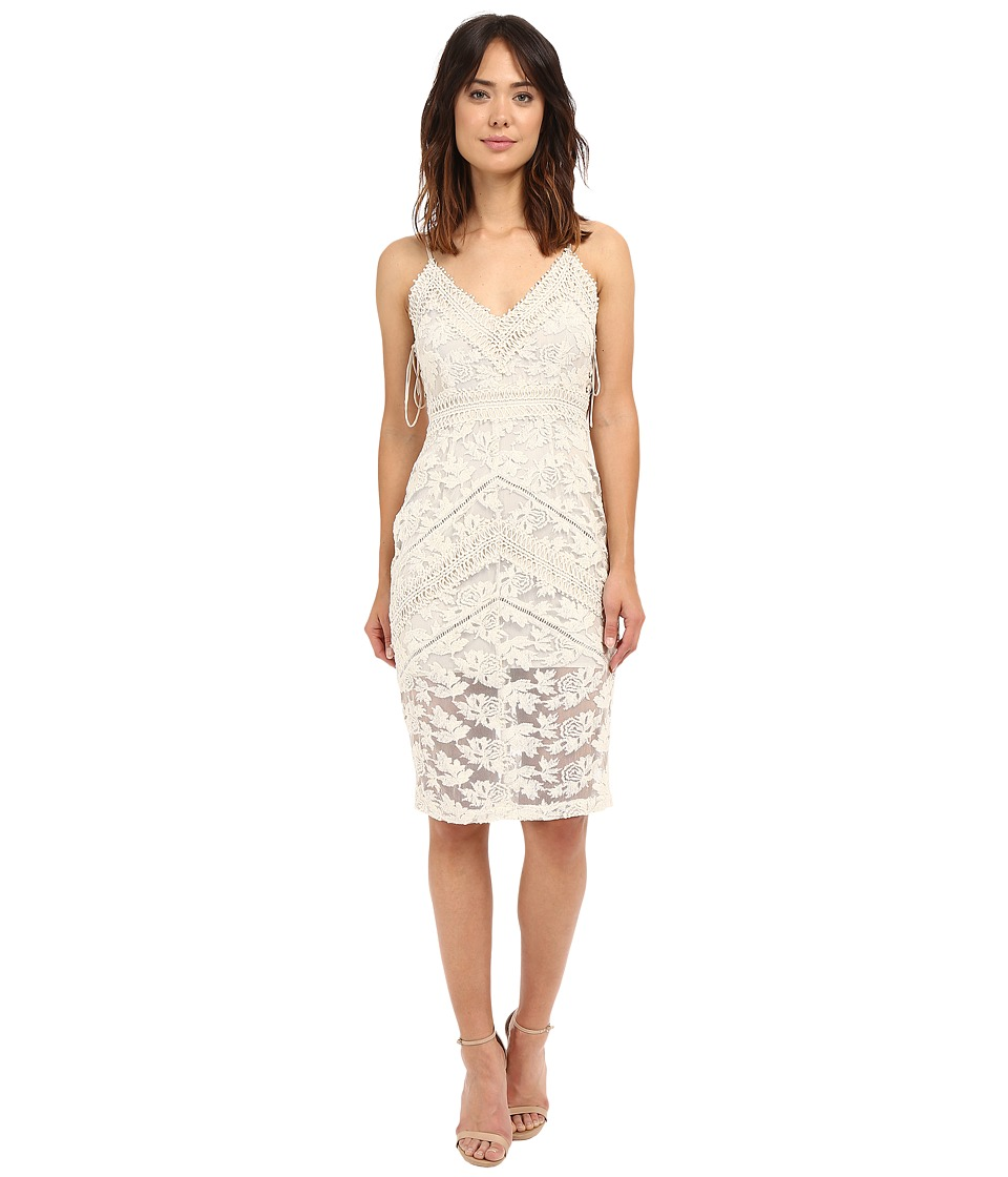 Adelyn Rae - Lace Dress (Natural) Women's Dress