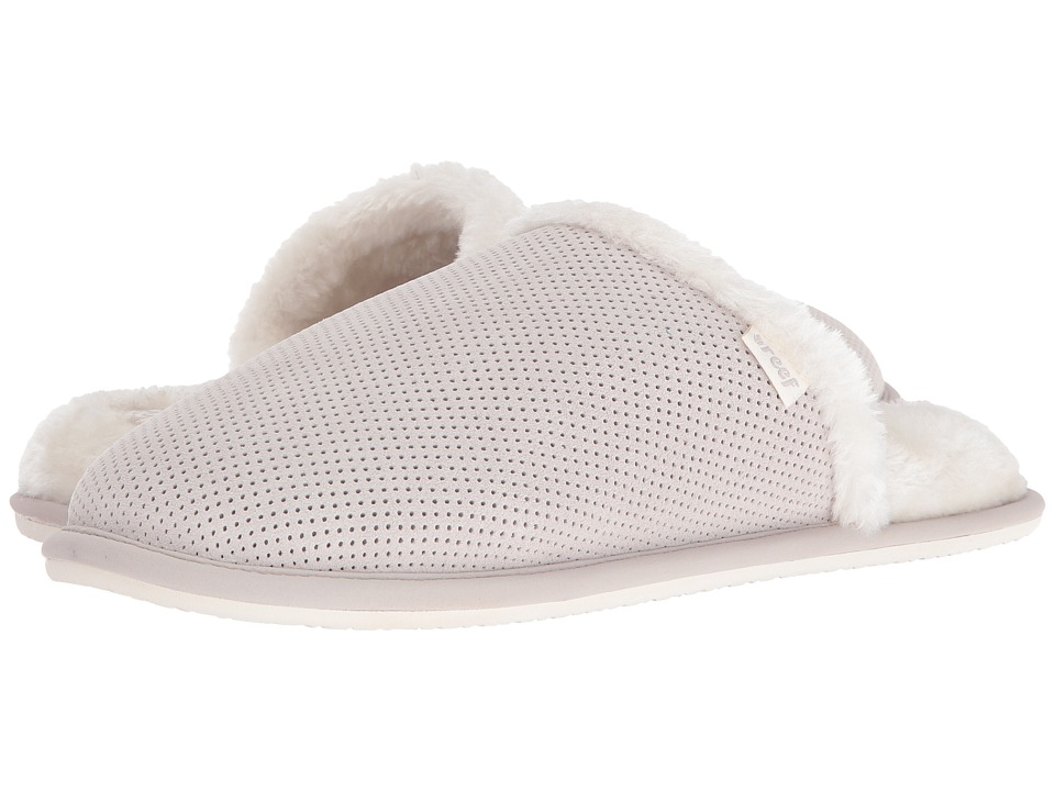 Reef - Cozy Slipper (Light Grey) Women's Slippers