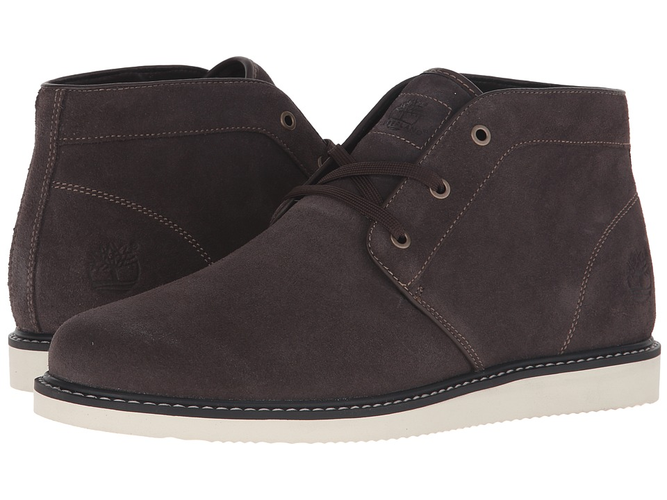 Timberland - Newmarket Plain Toe Chukka (Mulch) Men's Lace-up Boots