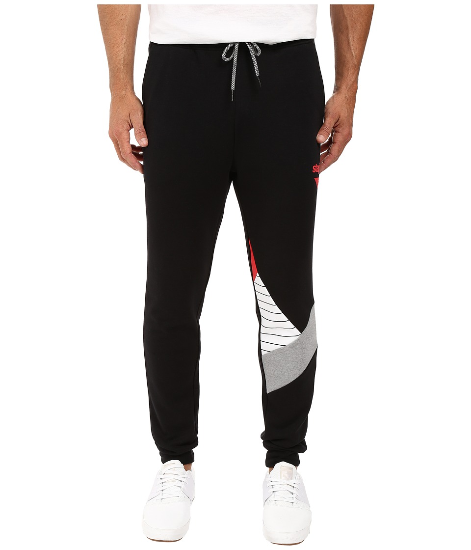 Staple - Contagion Sweatpants (Black) Men's Casual Pants