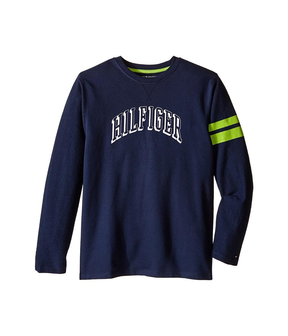 Tommy Hilfiger Kids - Jon French Terry Tee (Big Kids) (Swim Navy) Boy's T Shirt